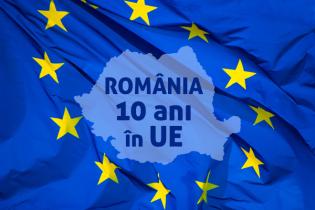 Un deceniu de apartenenţă a României la UE