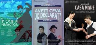 Teatru românesc la București, Iași și Chișinău