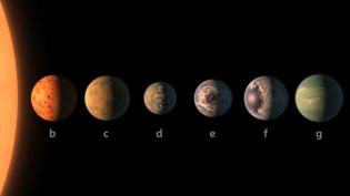 Descoperire NASA: Șapte exoplanete de mărimea Terrei într-un singur sistem solar