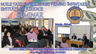 Procedurile privind înființarea entităților juridice, dezbătute la Ialomița
