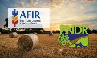 AFIR: Măsuri în sprijinul implementării proiectelor finanțate prin PNDR 2020