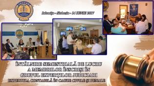 CECCAR Ialomița: Întâlnire a membrilor Grupului Experților Judiciari cu beneficiarii lucrărilor de expertiză