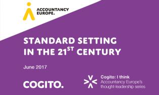 Normalizarea în secolul al XXI-lea – un nou document Cogito, publicat de Accountancy Europe