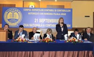 CECCAR Arad: Ample manifestări cu membrii filialei