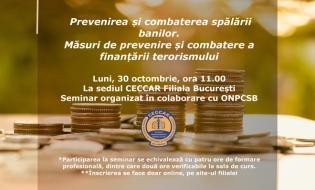 Prevenirea și combaterea spălării banilor. Măsuri de prevenire și combatere a finanțării terorismului