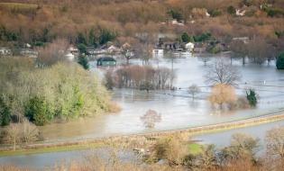 Studiu: Inundațiile se vor multiplica în Europa din cauza încălzirii globale
