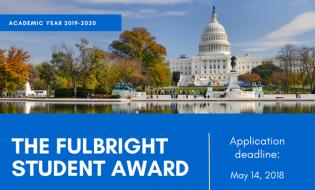 Fulbright Student Award – burse pentru anul academic 2019-2020