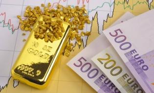 Rezervele internaționale ale României (valute plus aur), 38,673 miliarde de euro la 28 februarie 2018