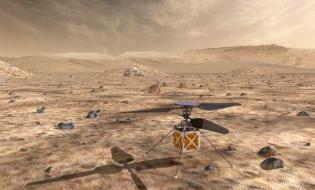 NASA plănuiește să trimită primul elicopter pe Marte, în 2020