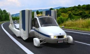 Mașina zburătoare Terrafugia Transition va fi lansată în 2019