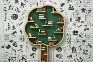 Copacul cu cărția redeschis zona de lectură liberă în Parcul Izvor