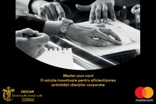 Master your card. O soluție inovatoare pentru eficientizarea activității clienților corporate