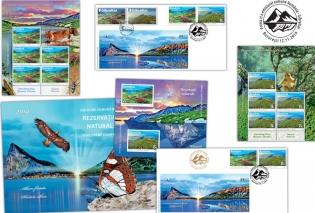 Romfilatelia: Emisiunea comună de mărci poștale România-Gibraltar – Rezervații naturale