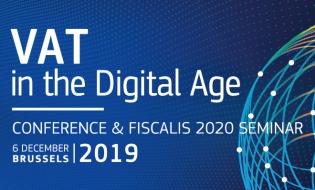 Conferința TVA în era digitală– 6 decembrie 2019, Bruxelles