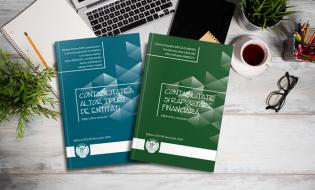 Noi ediții ale publicațiilor dedicate stagiarilor CECCAR: Contabilitate și raportare financiară și Contabilitatea altor tipuri de entități