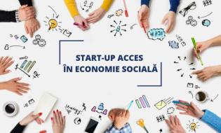 Proiectul START-UP ACCES ÎN ECONOMIE SOCIALĂ vine în sprijinul societății în contextul crizei generate de pandemia de COVID-19. 105 noi locuri de muncă vor fi create