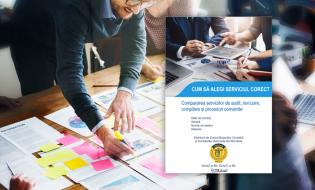 IFAC: Cum să alegi serviciul corect – Compararea serviciilor de audit, revizuire, compilare și proceduri convenite