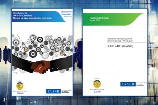 Standardul Internațional privind Serviciile Conexe (ISRS) 4400 (revizuit), tradus de CECCAR în limba română