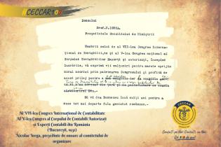 2021 – un secol de la reglementarea profesiei contabile în România