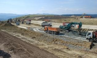 A început construcţia variantei de ocolire a municipiului Bacău, secţiune a Autostrăzii Moldova