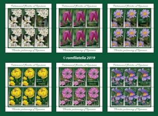 O nouă emisiune de mărci poştale – Patrimoniul floristic al României