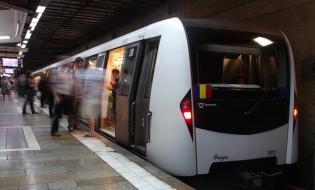 Metrorex: Circulaţia trenurilor de metrou, prelungită astăzi cu o oră, pentru partida de fotbal România-Suedia