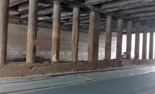 CFR SA: Lucrările de reparaţii şi consolidare la Podul Constanţa, finalizate în proporţie de 32%