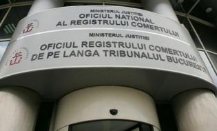 ONRC: 37.754 de persoane fizice şi juridice, înmatriculate în primele cinci luni din 2020, în scădere cu 44,67% faţă de intervalul similar din 2019