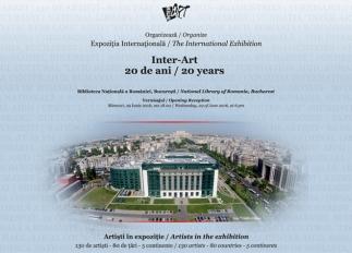 130 de artiști, 80 de țări, 5 continente – expoziția de artă contemporană Inter-Art 20 de ani