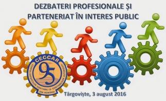 Filiala CECCAR Dâmbovița: Schimb de experiență cu mediul de afaceri și AJFP Dâmbovița