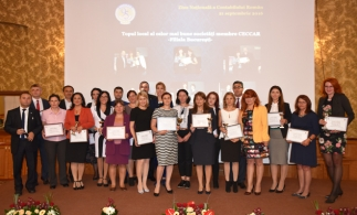 Topul local al celor mai bune societăți membre CECCAR– filiala București