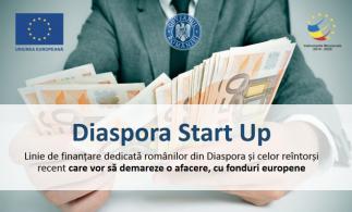 """30 milioane euro pentru Programul """"Diaspora Start-up"""""""
