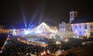 Târgul de Crăciun din Sibiu, la a X-a ediție