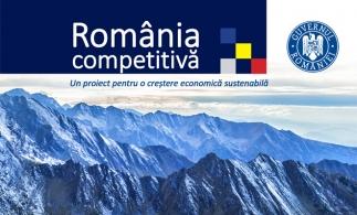 Documentul final România competitivă poate fi accesat pe site-ul MECRMA
