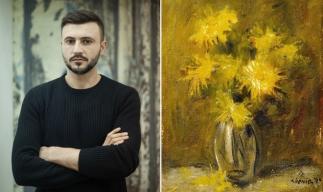 Lucrarea Flori de Adrian Ghenie, vândută cu 22.000 euro la o licitație a casei Goldart