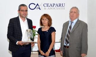 """CEAPARU & ASOCIAȚII – Premiul """"Firme de top ale anului 2016"""" în Topul local al celor mai bune societăți membre CECCAR, filiala Ilfov"""