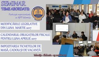 CECCAR Ialomița: Întâlnire cu reprezentanți ai AJFP