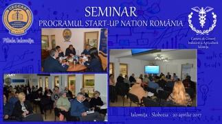 CECCAR Ialomița: Programul Start-Up Nation România, prezentat mediului de afaceri local