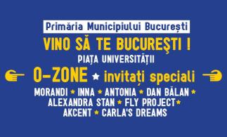 Piața Universității, în seara zilei de 9 mai 2017