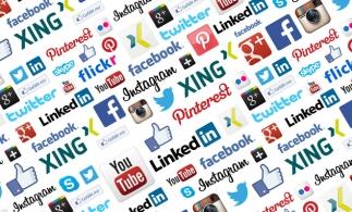 Studiu: Trei sferturi dintre români intră pe internet pentru rețele sociale și doar 8% pentru servicii bancare
