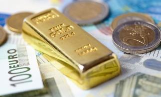 Rezervele internaţionale ale României (valute plus aur), 36,705 miliarde euro la 30 noiembrie 2017