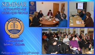 CECCAR Ialomița: Membrii, în dialog cu AJFP