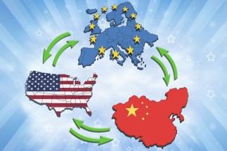 Eurostat: O treime din comerţul UE se realizează cu Statele Unite şi China
