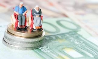 Numărul mediu de pensionari în trimestrul I – 5,18 milioane; pensia medie lunară – 1.227 lei