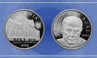 Emisiune numismatică cu tema 100 de ani de la nașterea lui Nicolae Cajal