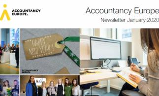 Buletinul de știri Accountancy Europe – ianuarie 2020
