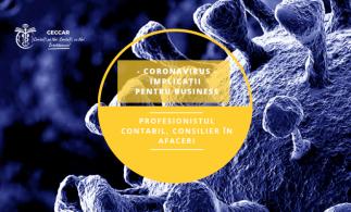 Ghid destinat profesioniștilor contabili: Coronavirus – Implicații pentru business. Profesionistul contabil, consilier în afaceri