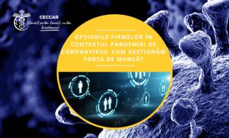 Ghid destinat profesioniștilor contabili: Opțiunile firmelor în contextul pandemiei de coronavirus. Cum gestionăm forța de muncă
