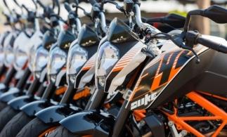 APIA: Înmatriculările de motociclete s-au redus cu 32,7% la nivelul UE, în primele patru luni; în România, piața moto a scăzut cu 17,9%