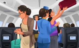 Italia interzice utilizarea compartimentelor de bagaje din cabina avioanelor